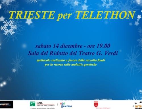 Trieste per Telethon